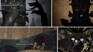 Lemony Snicket's Series of Unfortunate Events, Title Sequence