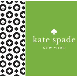 kate spade new york branding bright green logo
